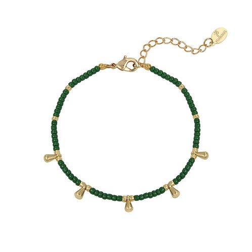 Armband 'Juliette' groen