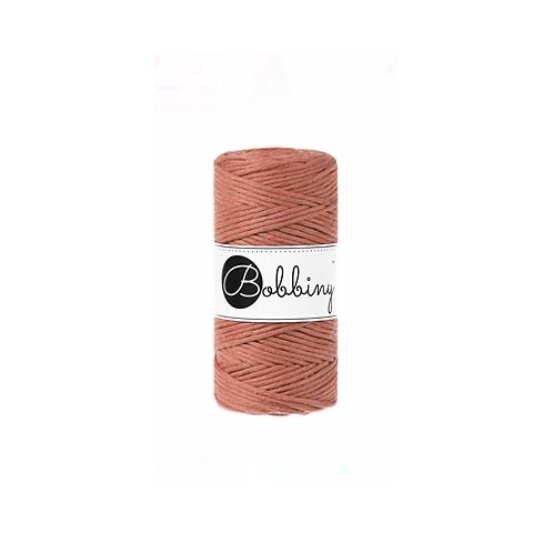 Bobbiny macrame 3mm single - Terracotta