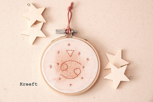 Idylness Little Embroidery Hoop Starsign