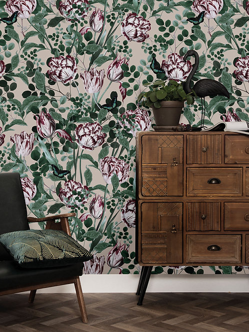KEK Amsterdam   Bold Botanics behang WP-710