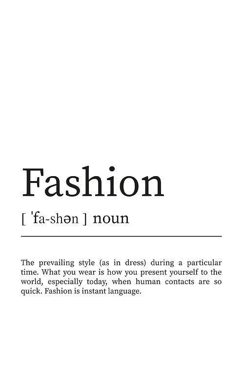 WDesign99 Poster Fashion