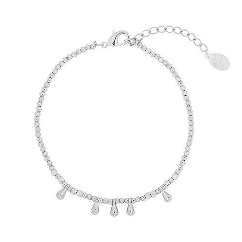 Armband 'Lauren' zilver