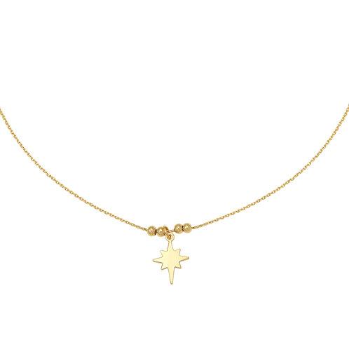 Ketting 'Universe Star' goud