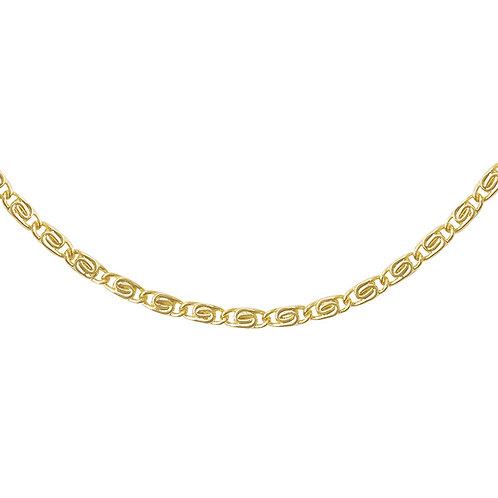 Schakelketting Griekse stijl 'Femme' goud