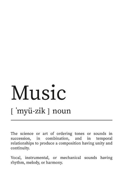 WDesign99 Poster Music