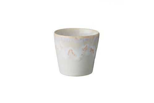 White Lungo cup