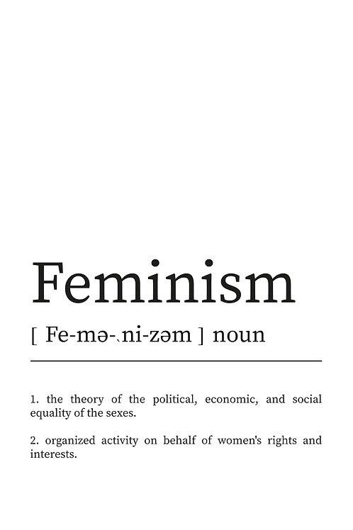 WDesign99 Poster Feminism