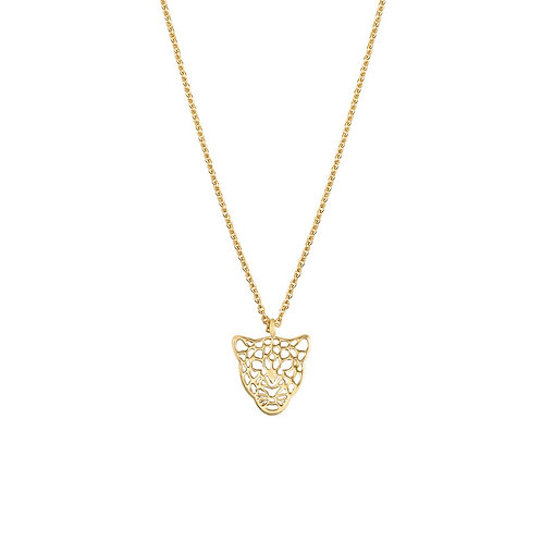 Ketting 'Panther Dream' goud