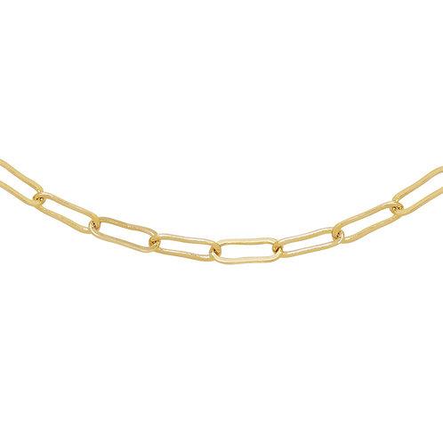 Schakelketting 'Open Chains' goud