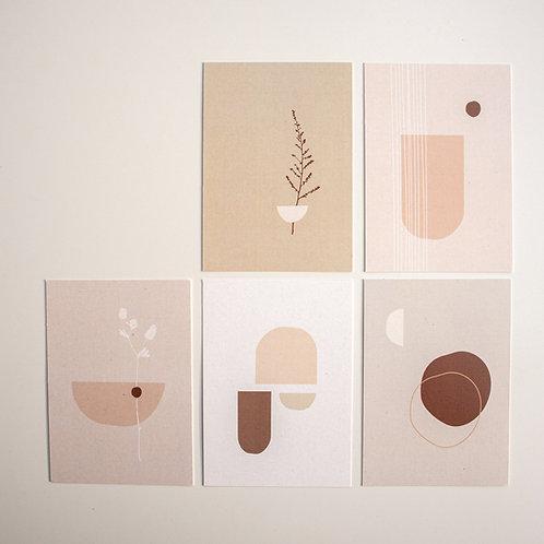 Kaartenset | Powders & Hazel