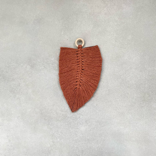 Macramé veer  - Terracotta