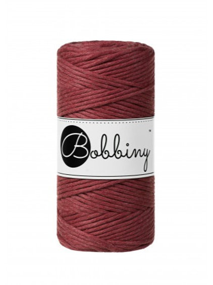 Bobbiny macrame 3mm single - Wild Rose