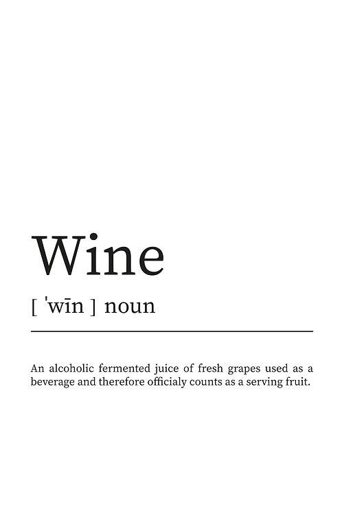 WDesign99 Poster Wine