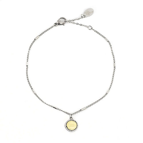 Armband 'Create Your Own Sunshine' zilver