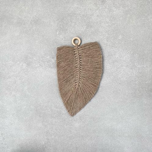 Macramé veer - Sand Gold