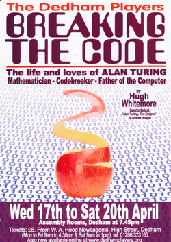 2013 Breaking The Code Poster