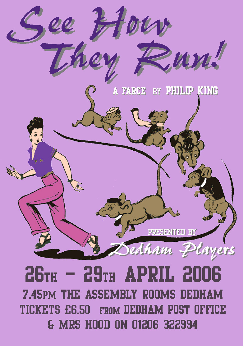 2012 See How They Run Poster