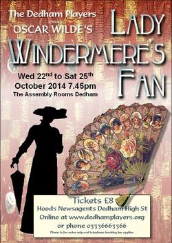 2014 Lady Windermere's Fan Poster