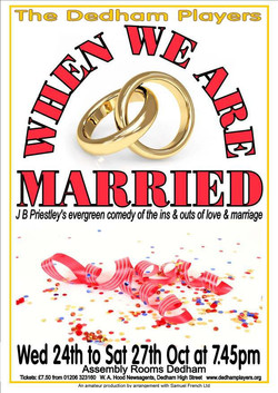 2012 When We are Married Poster
