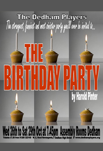 2011 The Birthday Party Poster