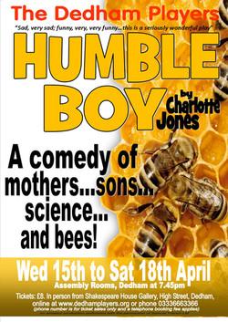 2015 Humble Boy Poster