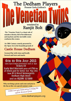 2011 The Venetian Twins Poster