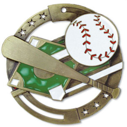 Baseball Medal M3SB1-CAT