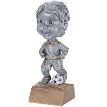 Bobblehead Soccer Trophy