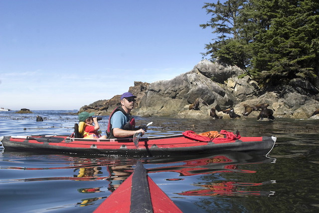 Kayaking on the Nehalem River South of Manzanita Beach