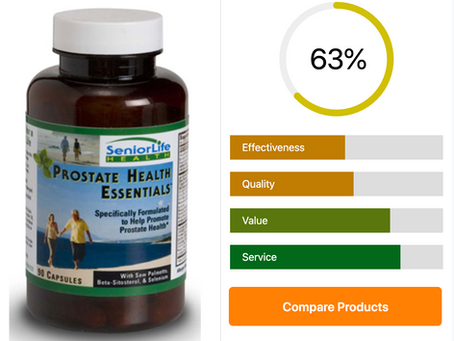 Our Review of Senior Life™ Prostate Health Essentials