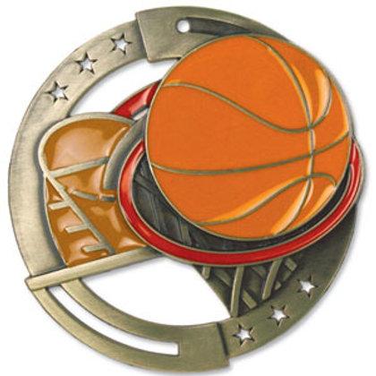 Basketball MedalM3SB2-CAT