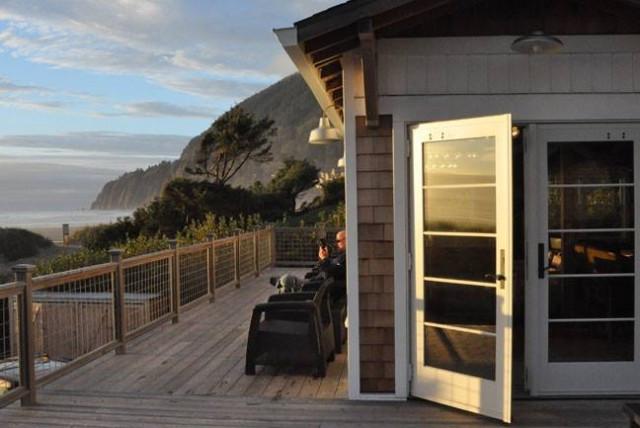 The Historic Reed House, The Houses on Manzanita Beach, Oregon Coast