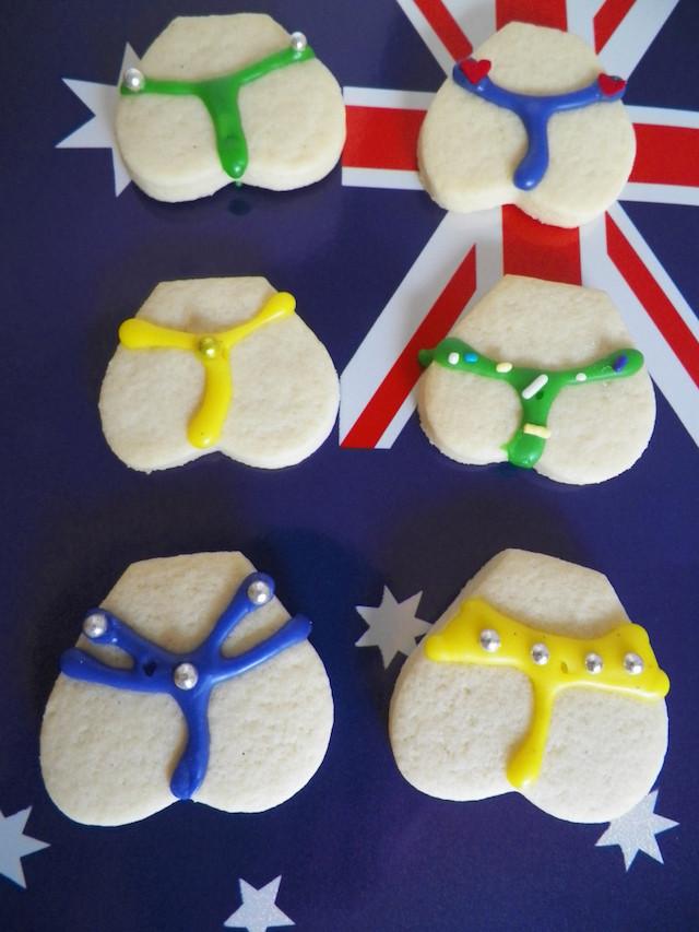 Aussie Bums Beach Cookies