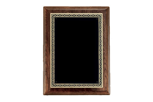 P3960 Walnut Stained Plaque