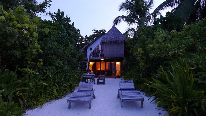 Our home on the beach