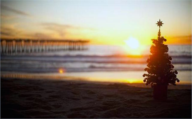 Happy Holidays! Manzanita Beach