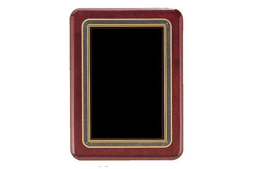 P3717 Stained/High Gloss Plate Plaque