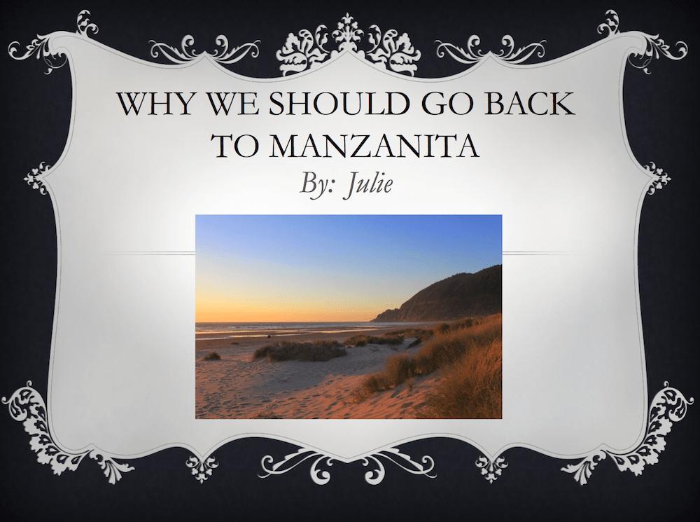 Manzanita Beach vacations