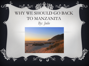 Manzanita Beach vacations