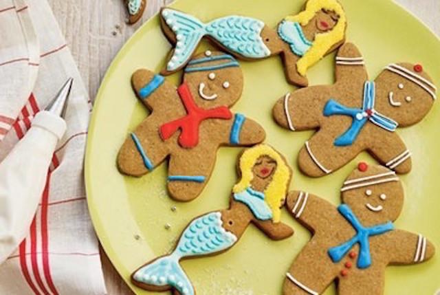 Sailors and Mermaids Beach Cookies