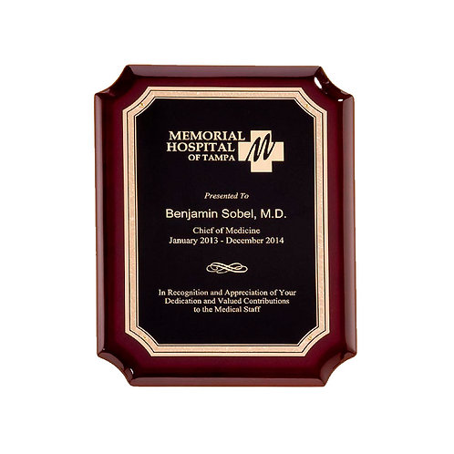 P5043 High Gloss Piano Finish Plaque