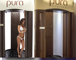 Pura Sunless Spray Tanning Booth