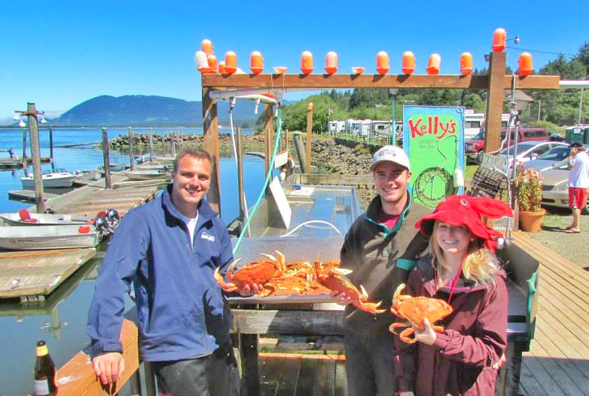 Fresh seafood Nehalem Bay Kelly's Brighton Marina