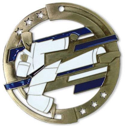 Martial Arts Medal M3SM2-CAT