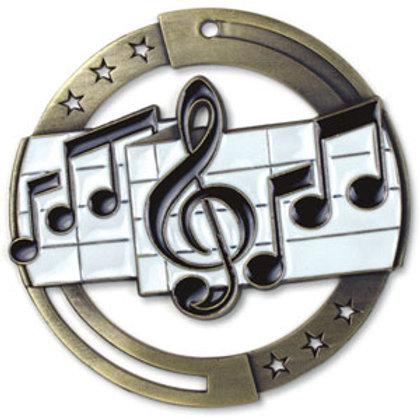 Music Medal M3SM1-CAT