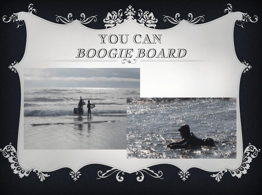 Boogie Boarding Oregon