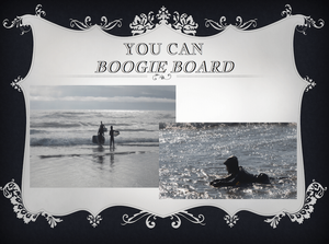 Boogie Boarding Oregon