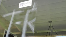 Dealing with vandalized glass on commercial buildings