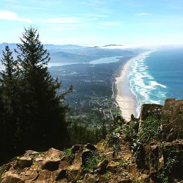 Manzanita area on the north Oregon coast