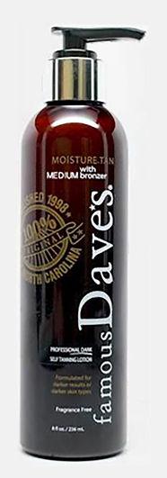 FAMOUS DAVE'S  self tanner medium bronzer
